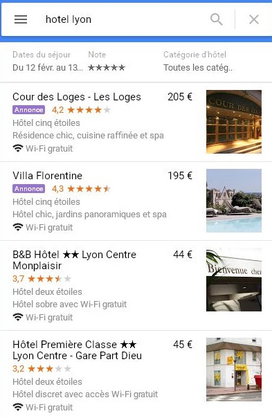 Annonces-Local-Search-Google-Maps-Hotel-Lyon