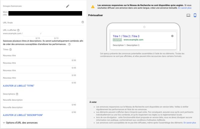 Innovations Google Des annonces axées vers des objectifs déterminés