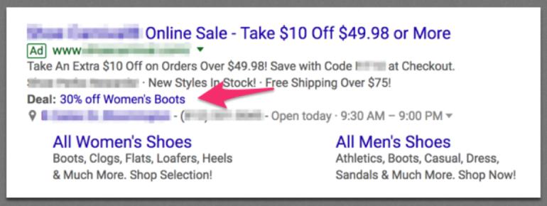Interface Ads Nouvelles options
